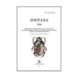 Zootaxa volume - hard copy...