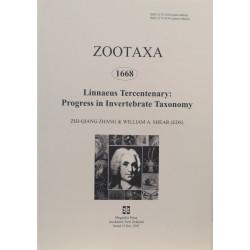 Zootaxa 1668 - HARD COPY
