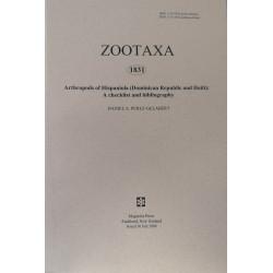 Zootaxa 1831 - HARD COPY