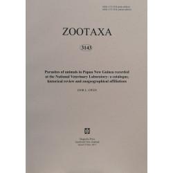 Zootaxa 3143 - HARD COPY